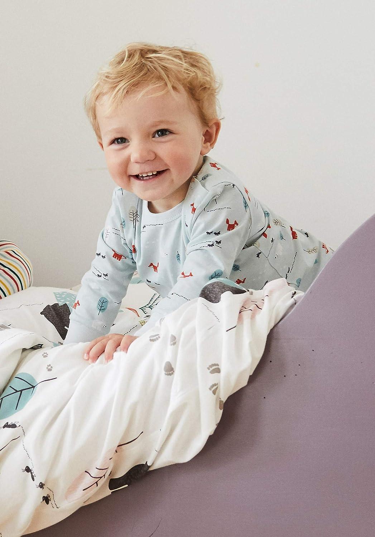 hessnatur Baby M/ädchen und Jungen Unisex Schlafanzug aus Reiner Bio-Baumwolle