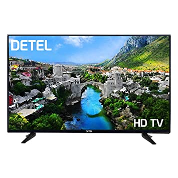 DETEL 60cm (24 Inches) DI24SF HD LED TV with 1 Year Warranty (Black)(2019 Model)