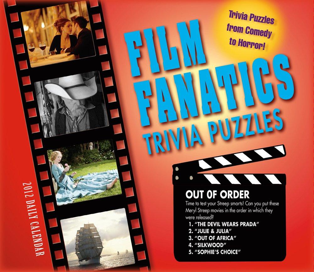 Film Fanatics Trivia Puzzles 2012 Box/Daily (calendar)