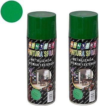 Montoro - Pack de 2 botes de pintura en spray Verde M302 400 ml ...