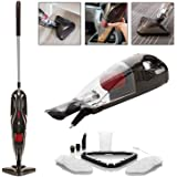 Thane H2O PowerX 6 in 1 Steam Mop & Vac Vacuum Cleaner Multi Purpose Portable Upright Handheld Hard Floor Window Carpet Steamer Upholstery Oven Hob Upright Washer Steam Jet