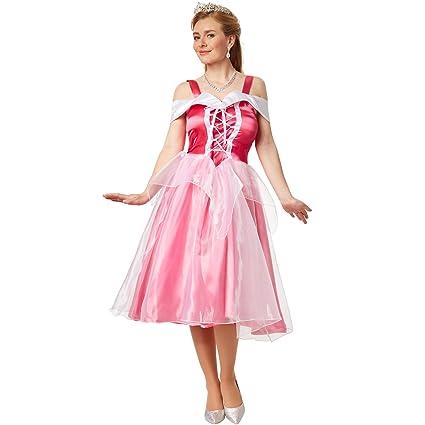 dressforfun Disfraz de princesa Aurora | Elegante vestido de ...
