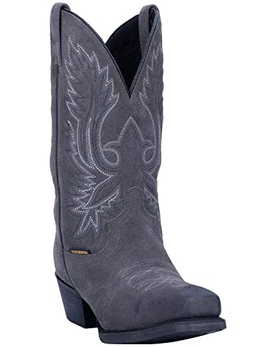 fcd779ae3ae Laredo Men s Grey Colton Western Boot Narrow Square Toe Grey ...