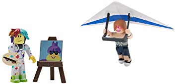 Roblox Celebrity Figure 2-Pack, Pixel Artist and Hang Glider