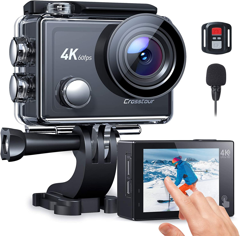 Crosstour アクションカメラ 4K