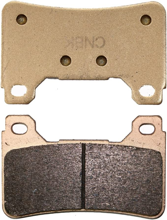 Delanteros Derecha Pastillas de Freno Semi-met/álicas fit for Street Bike CBR1000 CBR1000RR CBR 1000 RR 08 08 2008 1 Pair 2 Pads