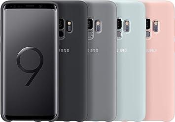 Samsung – Carcasa de silicona para Samsung Galaxy S9, color rosa ...
