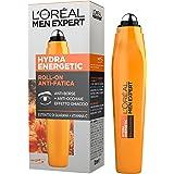 L'Oréal Paris Men Expert Hydra Energetic Roll-On Occhi Anti-Borse e Anti-Occhiaie, con Estratto di Guaranà e Vitamina C, 10 ml