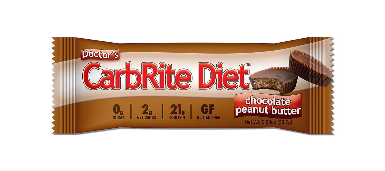Universal Nutrition CarbRite Diet Bar Chocolate Peanut Butter - 12 Barras: Amazon.es: Salud y cuidado personal