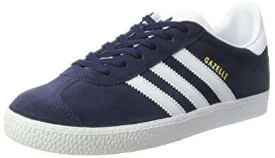 Adidas Gazelle, Baskets Basses Mixte Enfant, Bleu (Collegiate Navy Footwear White),