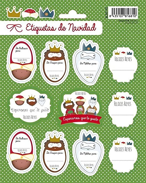 Grupo Erik editores Christmas Happy Kings – Labels,