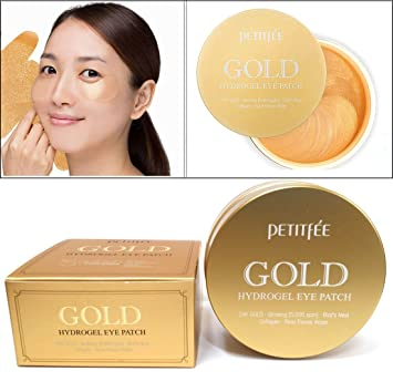 hydro gel eye patch gold