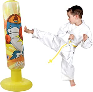 Win A Free mapow Children's Inflatable Punching Bag Water Weighted...