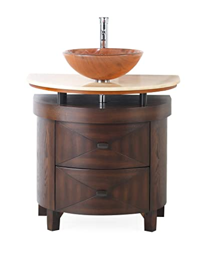 32 Vessel Sink Bathroom Vanity Model Bwv 026 Verdana Amazon Com