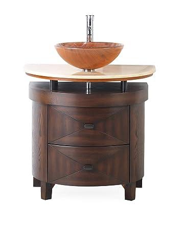 32 Vessel Sink Bathroom Vanity Model Bwv 026 Verdana Amazoncom