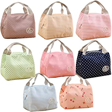 Oguine Insulated Thermal Cooler Lunch Bag Pouch Picnic Storage Box Lunch Bags