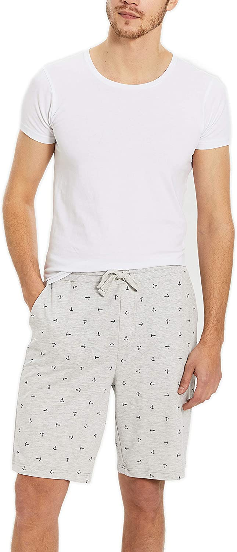 Pantaloni da pigiama da uomo motivo stampato modello standard LC WAIKI