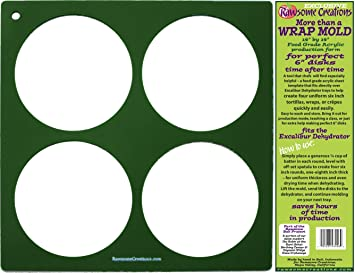 Amazon rawsome creations excalibur dehydrator 6 inch rounds rawsome creations excalibur dehydrator 6 inch rounds template pronofoot35fo Choice Image