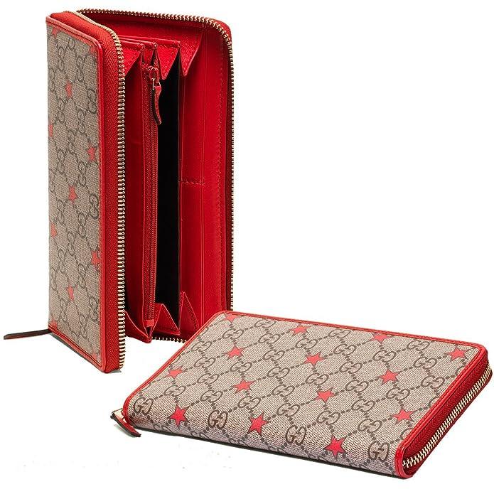 Gucci 321917 Kh31c 8596 - Cartera para mujer Mujer rojo Red Talla Unica: Amazon.es: Zapatos y complementos