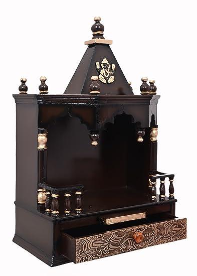 Charmant Vishwakarma Furniture Wooden Home Temple/puja Mandir/wooden Temple/temple  For Home/puja Ghar/temple/wall Hanging: Amazon.in: Home U0026 Kitchen