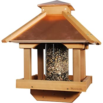Amazon Com Woodlink Copgazebo Coppertop Wood Gazebo Bird