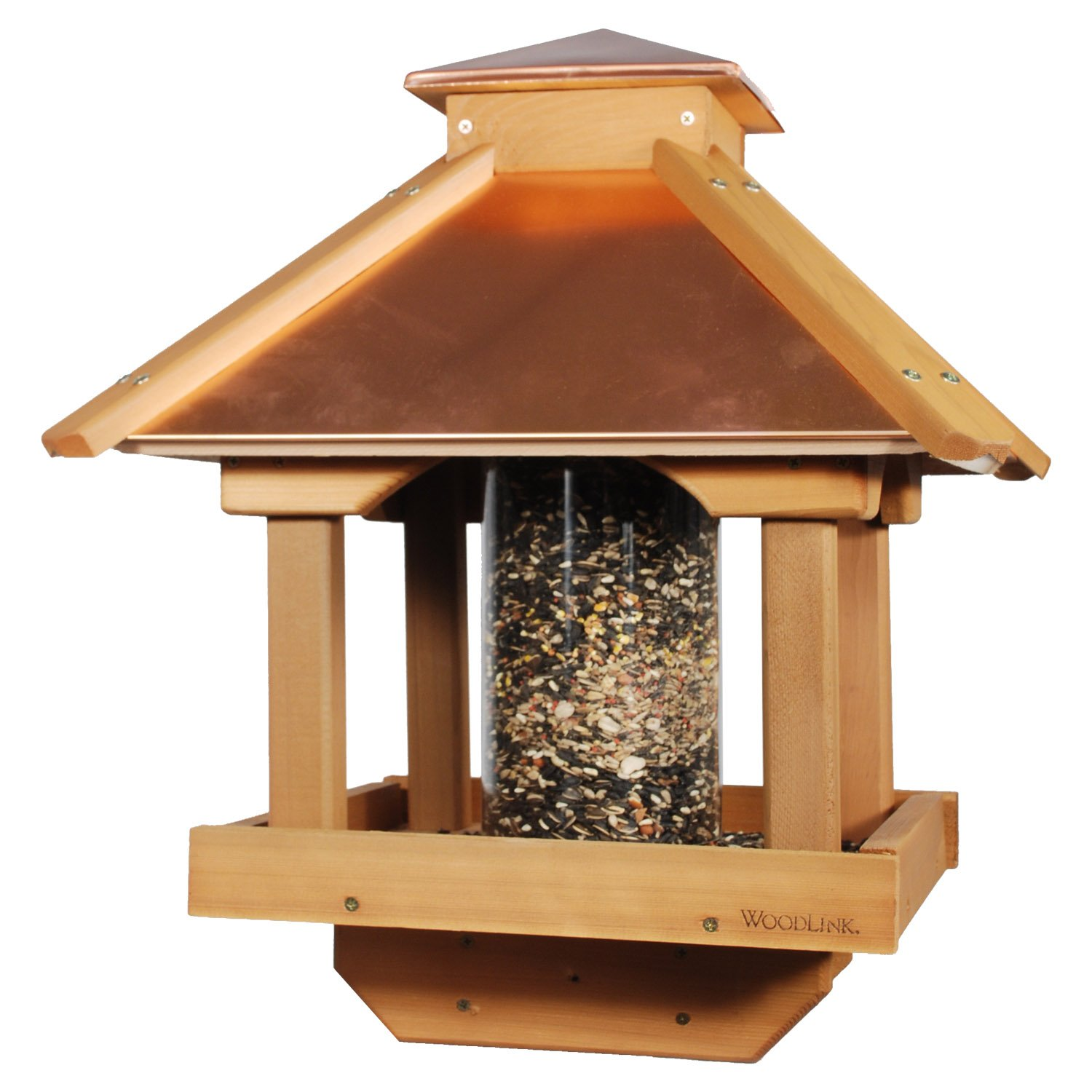 Woodlink COPGAZEBO Coppertop Wood Gazebo Bird Feeder