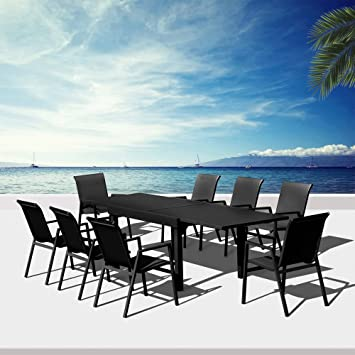 Salon de jardin aluminium Saint Barth: Amazon.fr: Jardin