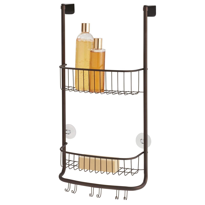 Amazon.com: InterDesign Forma, bolsa de regadera Caddy para ...