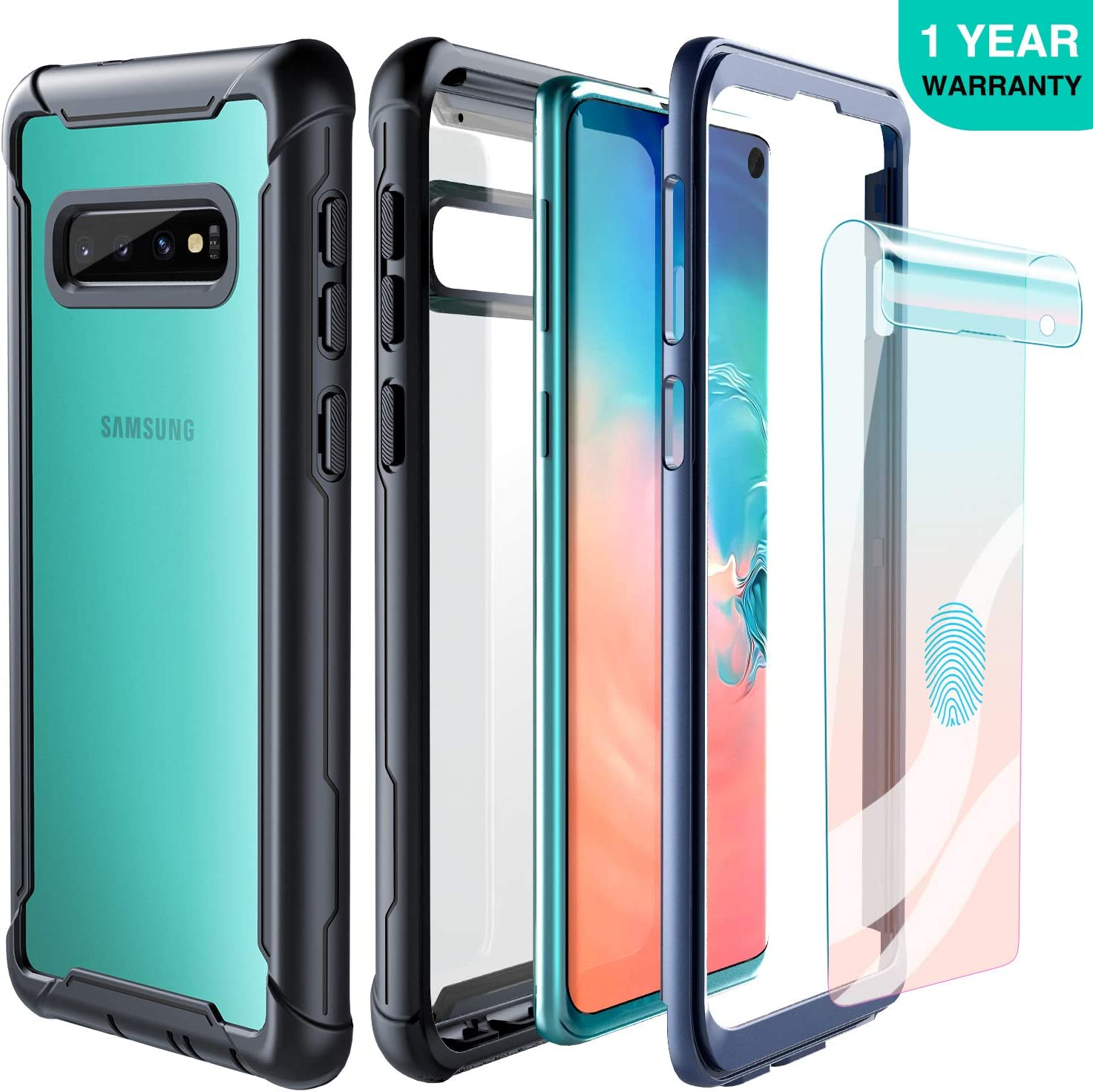 Funda Samsung Galaxy S10 FITFORT de cuerpo completo