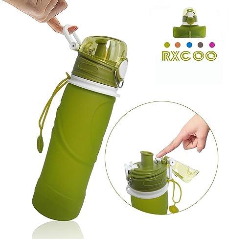 Plegable para Botellas de Agua, 750 ml, grado médico, sin BPA ...