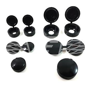 Falcon Workshop Supplies - Embellecedores de plástico con tapa pequeños para tornillos.: Amazon.es: Bricolaje y herramientas