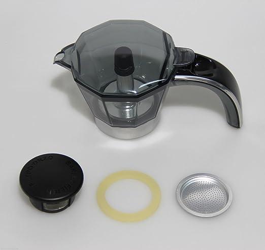 Kit jarra cafetera Alicia DeLonghi Plus 2 tazas EMKP 21 5513200389 Original: Amazon.es: Hogar