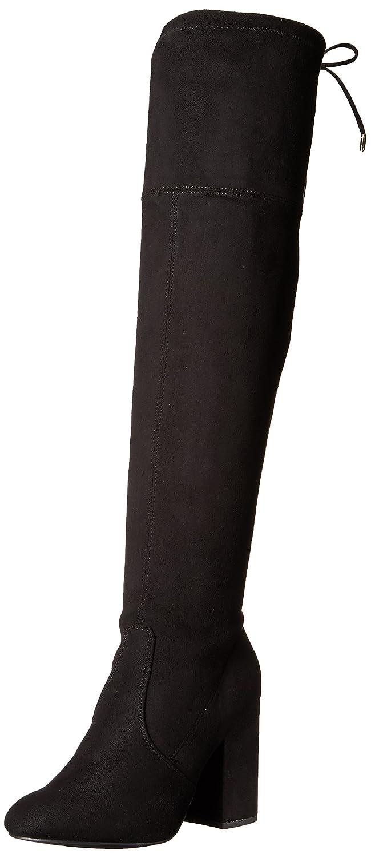 Steve Madden Women's Niela Over The Knee Boot B073HBQ198 5.5 M US|Black