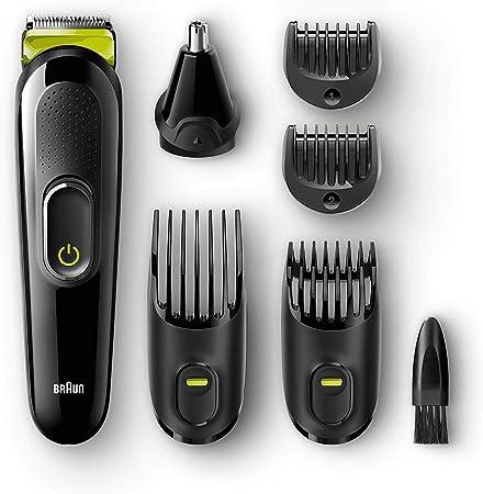 Cuchillas afiladas de larga duración para recorte de barba y cabello,13 ajustes de longitud con solo