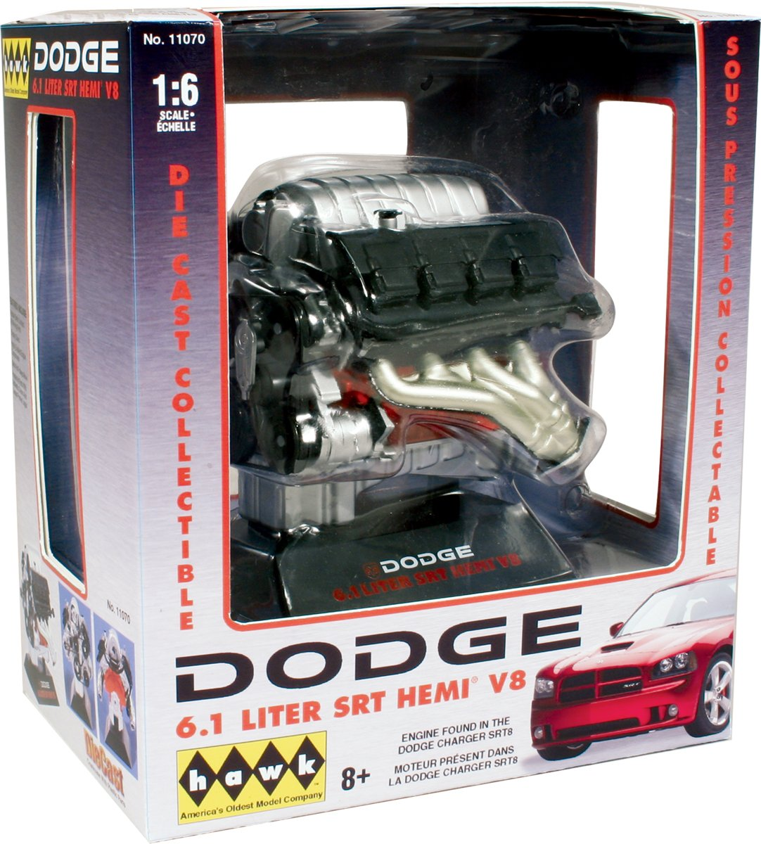 el precio más bajo Hawk 11070. Motor Dodge 6.1 SRT Hemi Hemi Hemi V8. Escala 1/6  a la venta