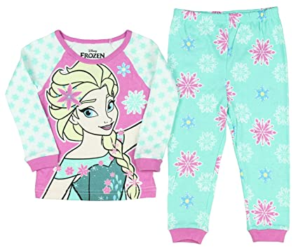 ced98d9f9 Amazon.com  Disney Frozen Fever Elsa Snowflake Toddler 2 Piece ...
