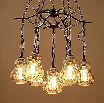 Lámparas de araña Araña Retro Colgante Lámparas de Techo ...