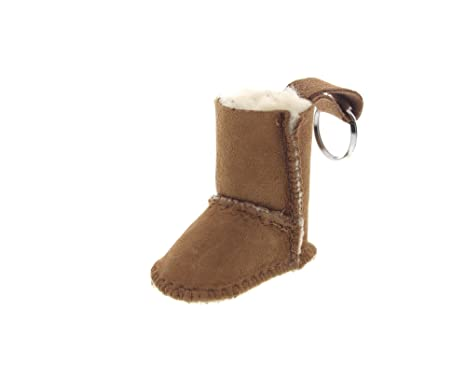 UGG Unisex S534 Boot Keychain, Tan, One Size