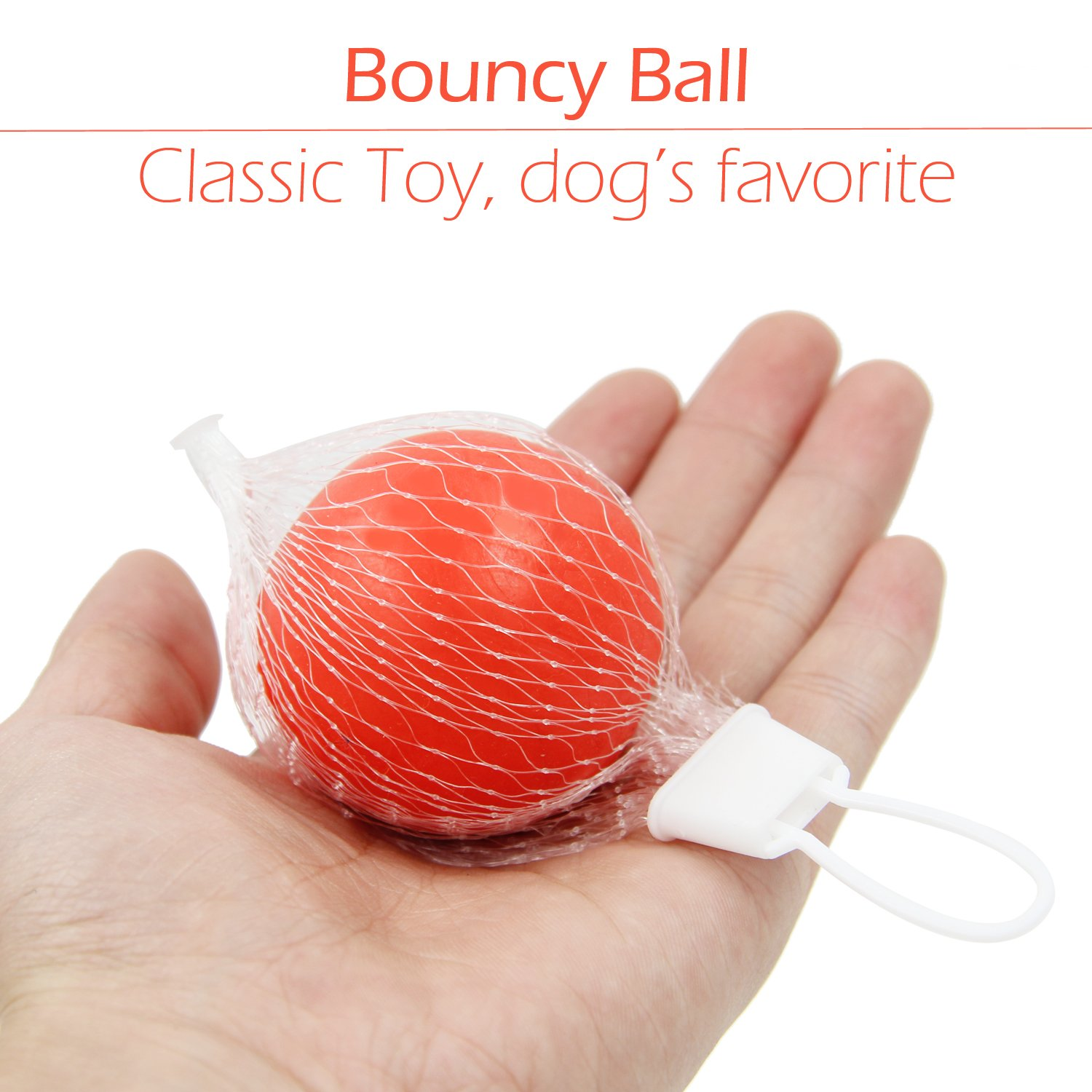 Small Dog Toys Set 6 Pack Ball Rope and Chew Toys for Small Dog Puppy by yotache (Image #3)
