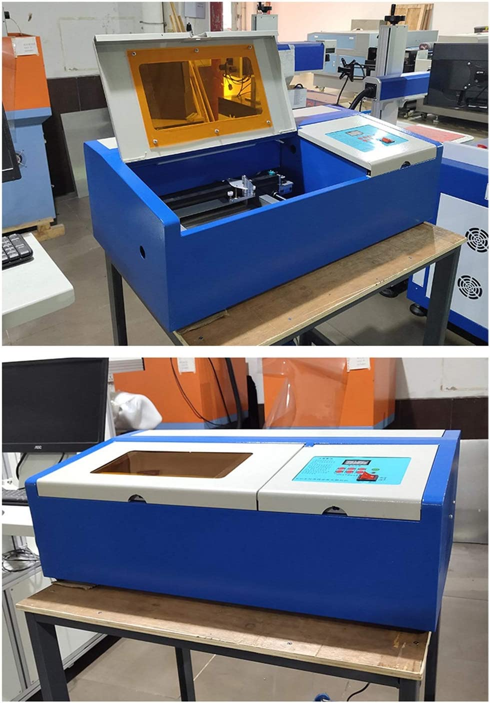 Multi-Funktions-Gravur-Schneidemaschine mit Einer USB-Port Multifunktions-Schneide H/örsein Kleiner Laserschneiden Plotter Laser-Gravur-Maschine