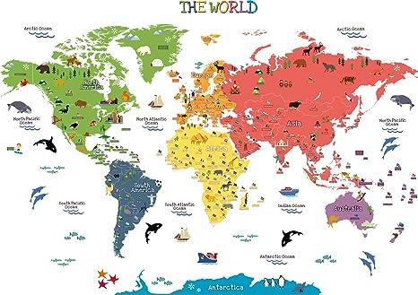 HomeEvolution, Mapa del mundo adhesivo [texto en inglés], de ...