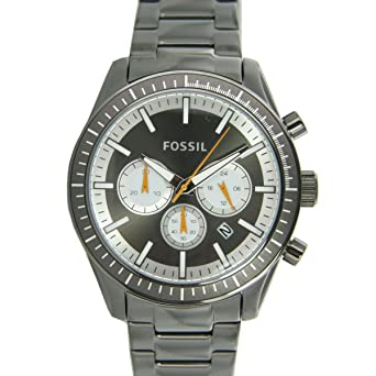 Fossil bq1258 - for Men, Stainless Steel Strap Watch: Amazon