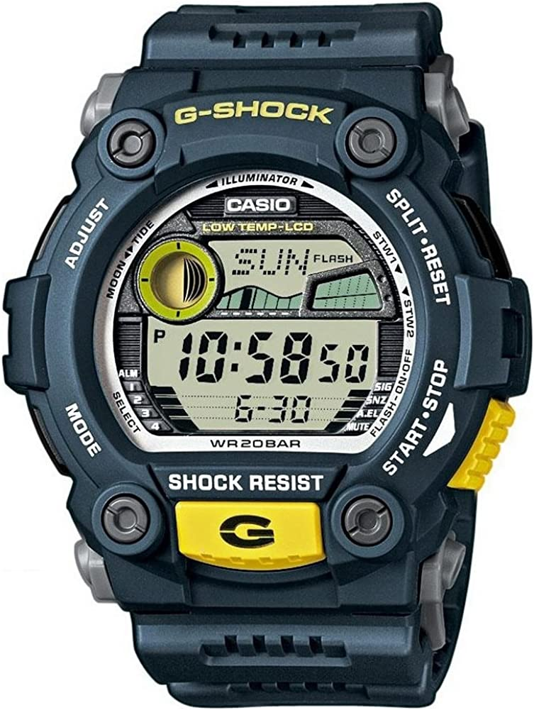Casio G-7900-2ER - Reloj Digital de Cuarzo para Hombre con Correa de Resina, Color Azul