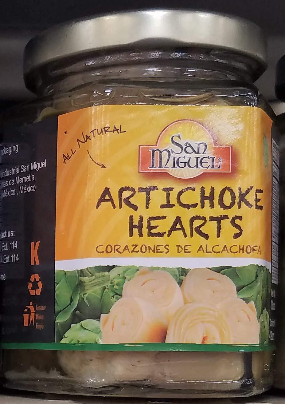 San Miguel Artichoke Hearts 8 oz (Pack of 3)