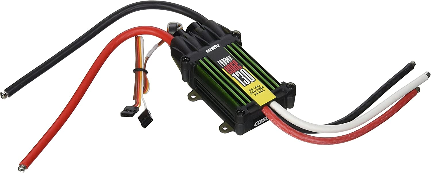 Castle Creations PHX Edge 130 Amp Electronic Speed Controller with 5 Amp BEC