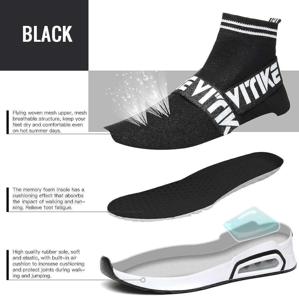 Zapatillas de Deportes Hombre Mujer Zapatos Deportivos Running Zapatillas para Correr Calcetines Zapatos Zapatos para Padres e Hijos(30-41): Amazon.es: Zapatos y complementos