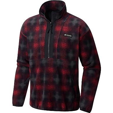 Columbia PNW CSC Originals Printed Fleece Jacket - Mens  Mountain Red Print 0f52c5902f9