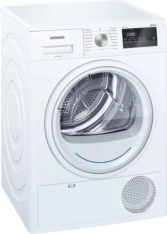 Siemens iQ300 WT43N2G1 Independiente Carga frontal 8kg B Blanco ...