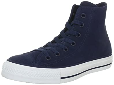 ed8aa6dd51c4ea ... france converse unisex adult chuck taylor all star suede athletic navy  trainers blue blau athletic 9d28d ...
