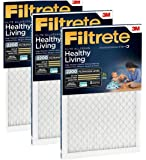 Filtrete MPR 2200 16 x 20 x 1 Healthy Living Elite Allergen Reduction HVAC Air Filter, Delivers Cleaner Air Throughout…